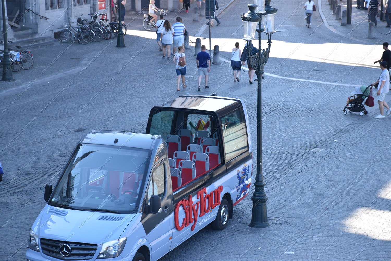 City tour Car in Belgium