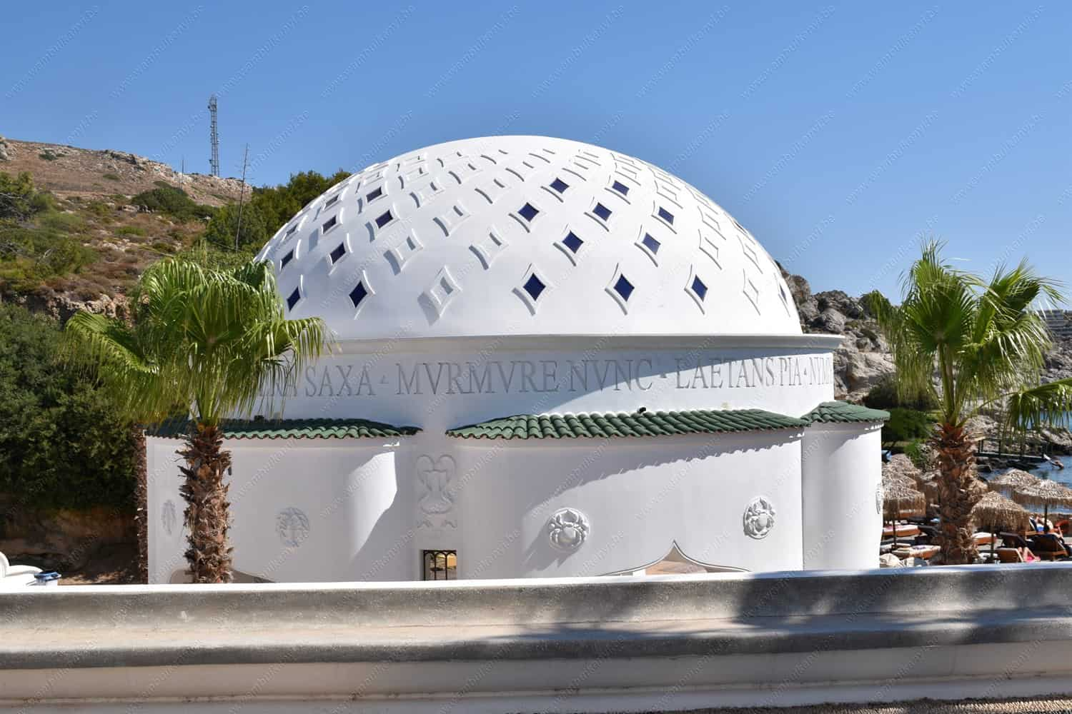 Kallithea Springs on the Island of Rhodes