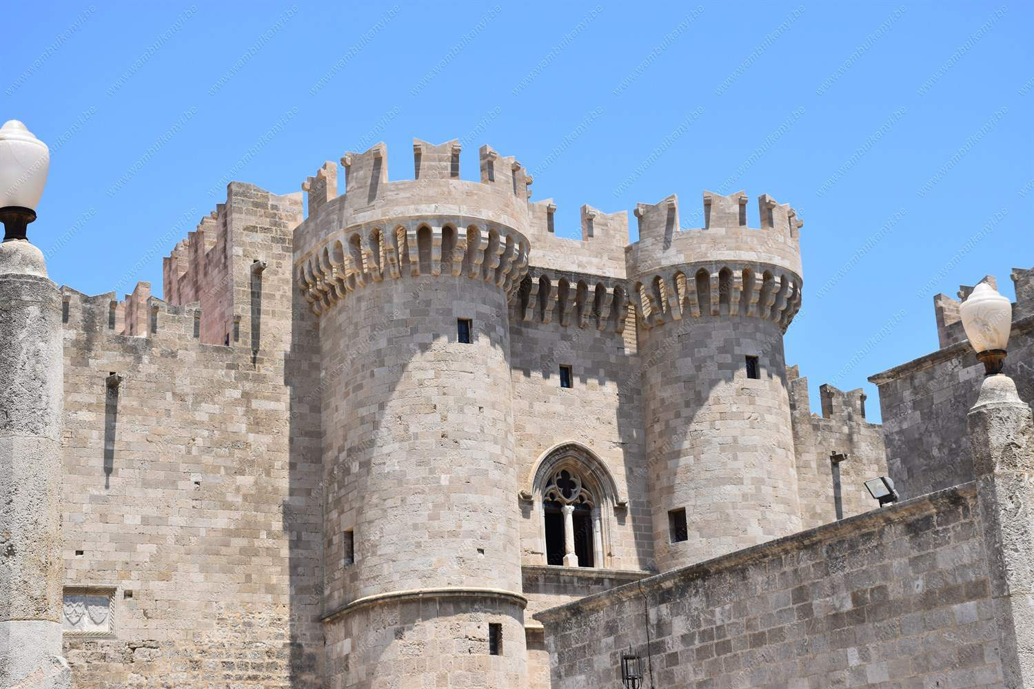 The Medieval Old Town Of  Rhodes