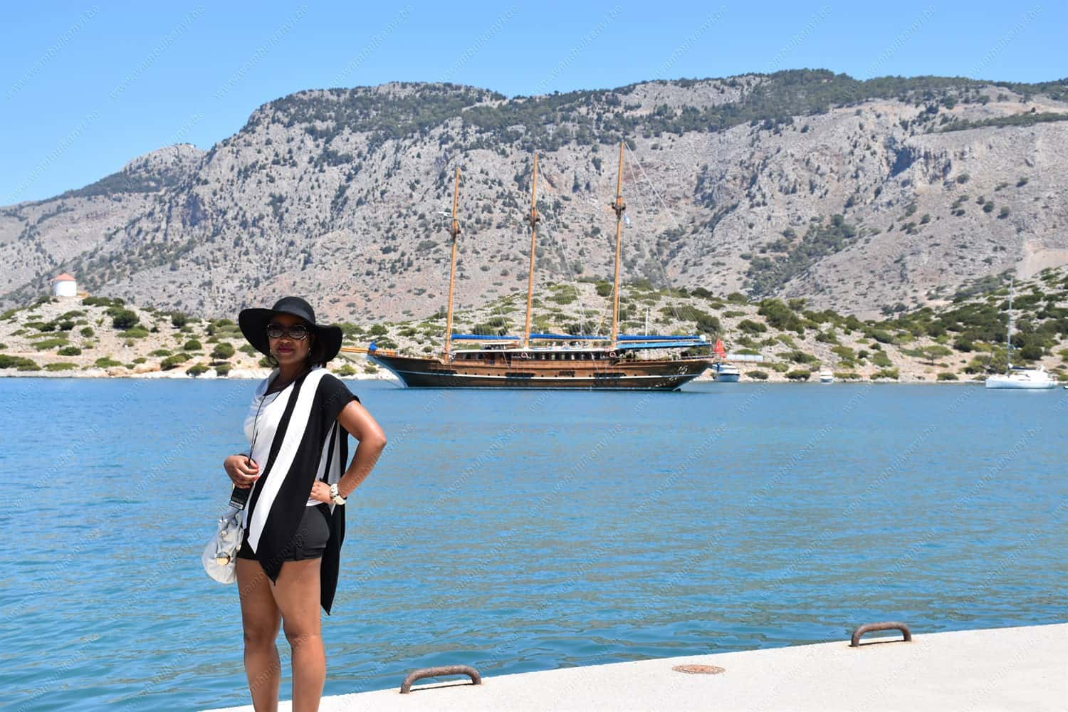 Boat Cruise to Symi
