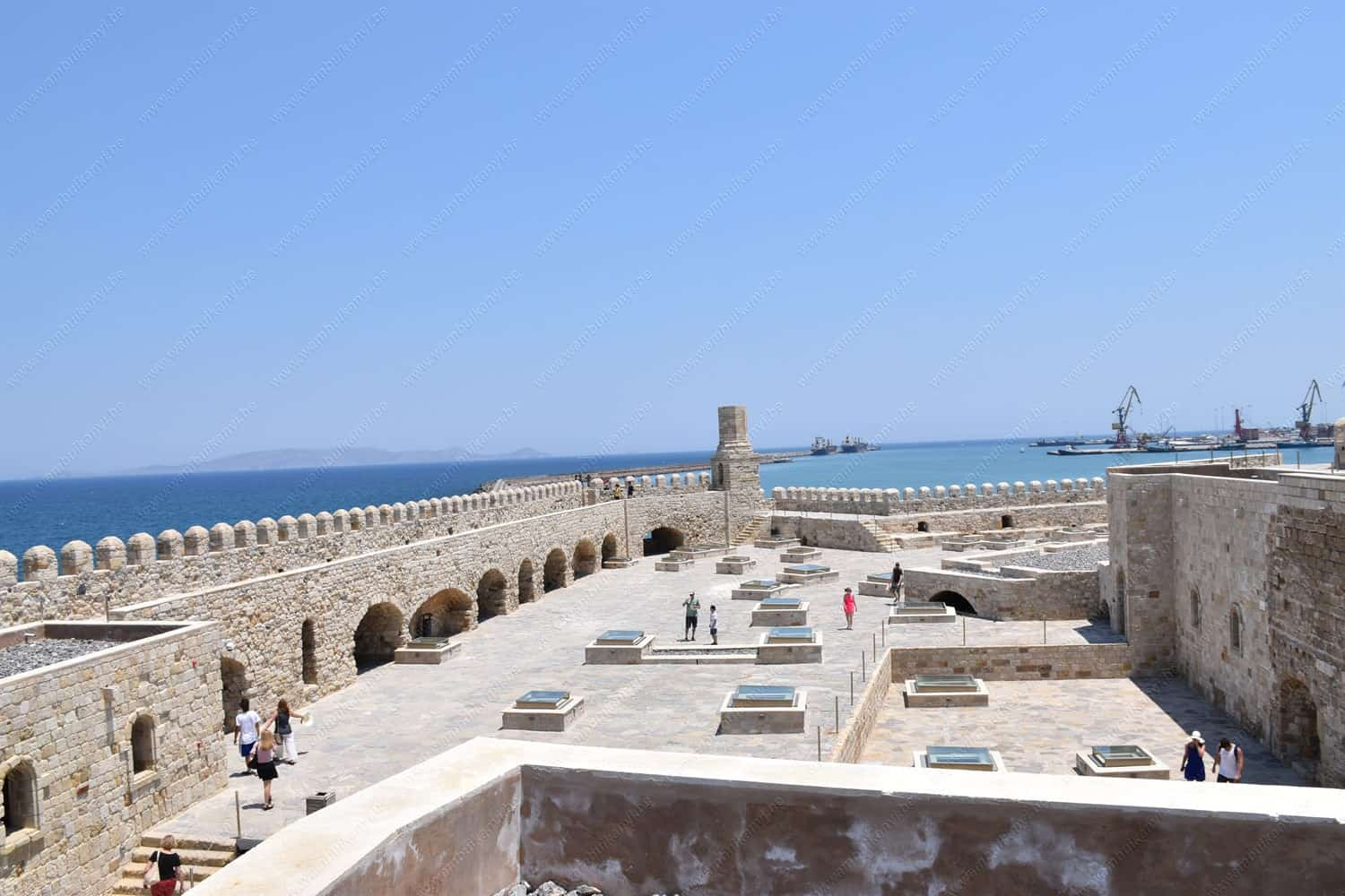 You are currently viewing Koules Venetian Fortress in Heraklion