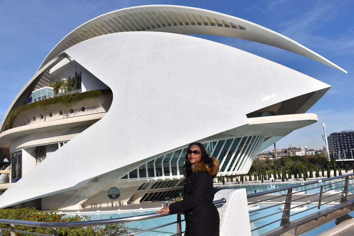 Opera House In Valencia