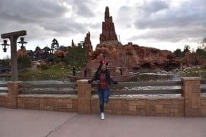 The Frontierland in Disneyland Paris
