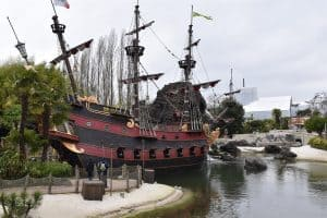 The Adventureland In Disneyland Paris