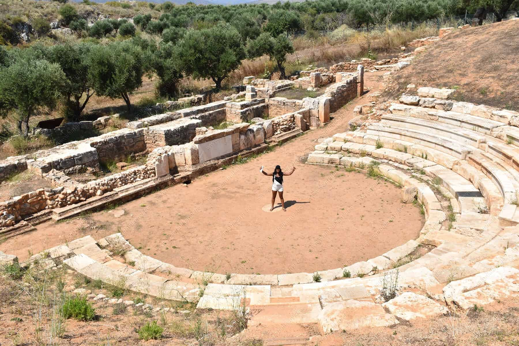 The Ancient Aptera of Crete Island