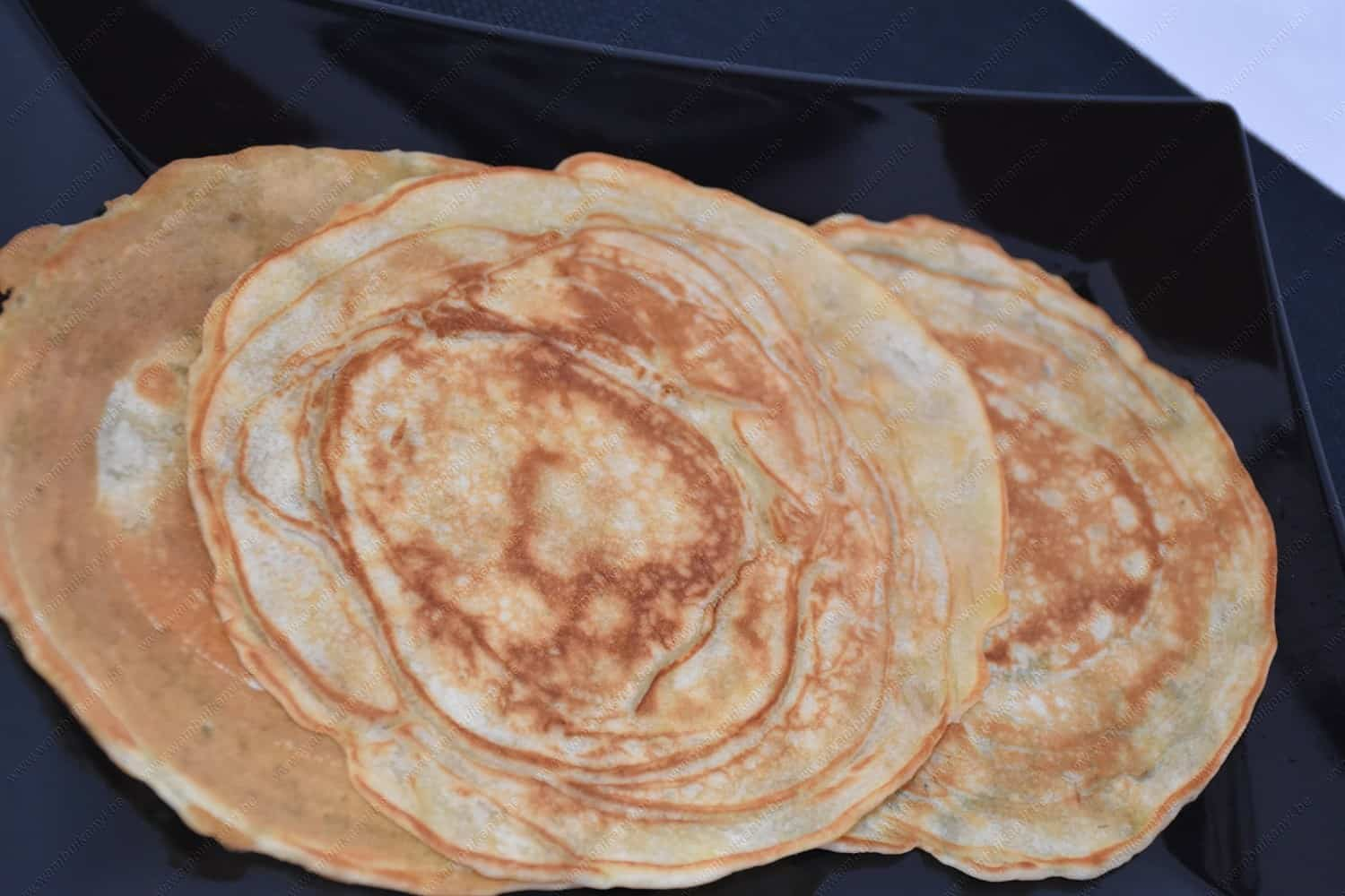 The Pancake With Banana Recipe